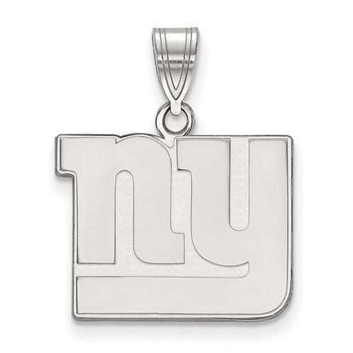 NFL© New York Giants - Sterling Silver Pendant