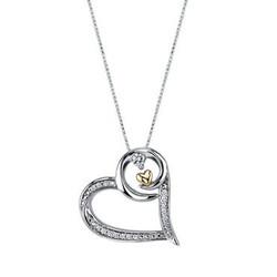 Arms of Love Diamond & Double Heart