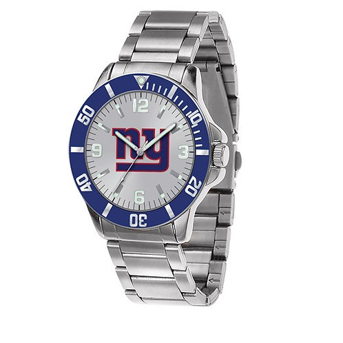 NFL© New York Giants - Stainless Steel Watch