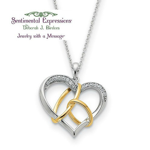 Sentimental Expressions® Pendant: Bridal Have and Hold