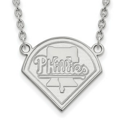 MLB© Philadelphia Phillies - Sterling Silver Necklace