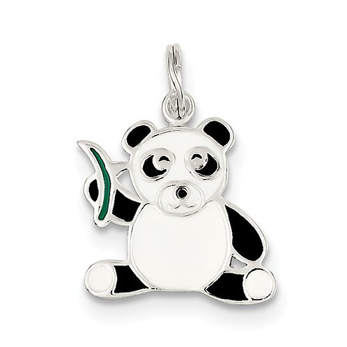 Quality® Child's Pendant, Sterling Panda