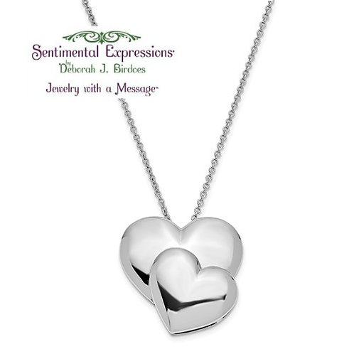 Sentimental Expressions® Pendant: Mother / Daughter