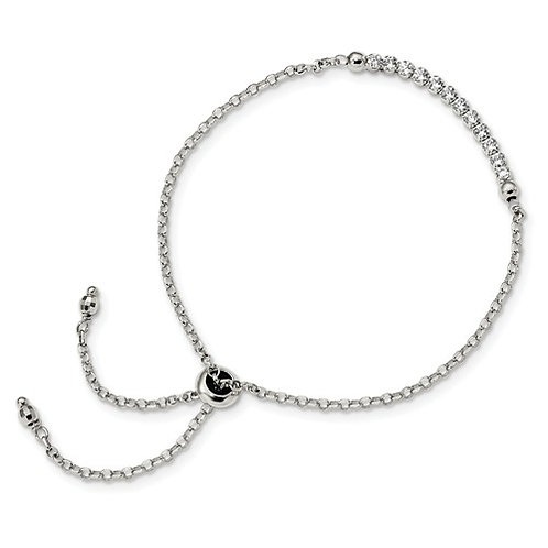 Italian Made Adjustable Bracelet, Sterling Silver