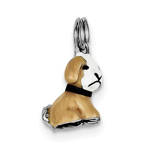 Quality® Child's Pendant, Sterling Dog