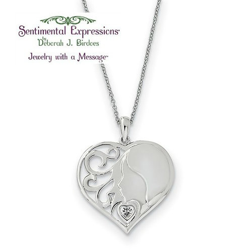 Sentimental Expressions® Pendant: My Daughter