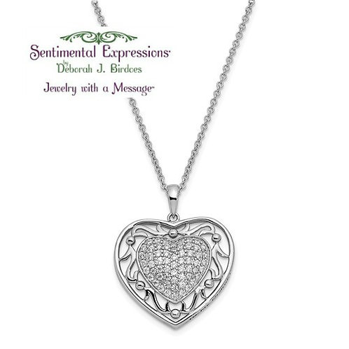Sentimental Expressions® Pendant: To My Granddaughter