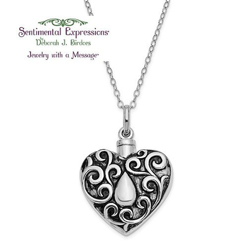 Sentimental Expressions® Ash Holder: Grieving Heart