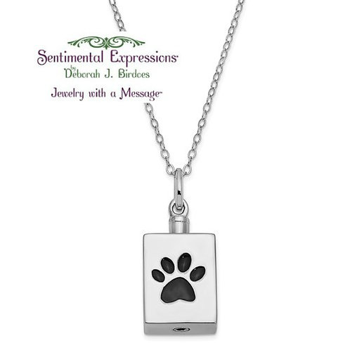 Sentimental Expressions® Ash Holder: Paw Print