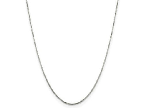 Sterling Silver Pendant Chain, 0.80mm Baby Box