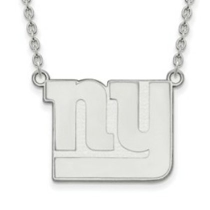 NFL© New York Giants - Sterling Silver Necklace