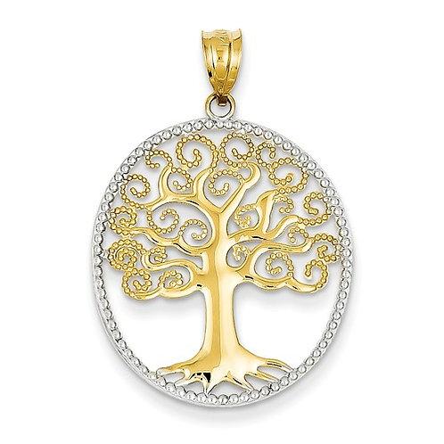 14kt Gold Tree of Life Pendant