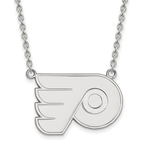 NHL© Philadelphia Flyers - Sterling Silver Necklace