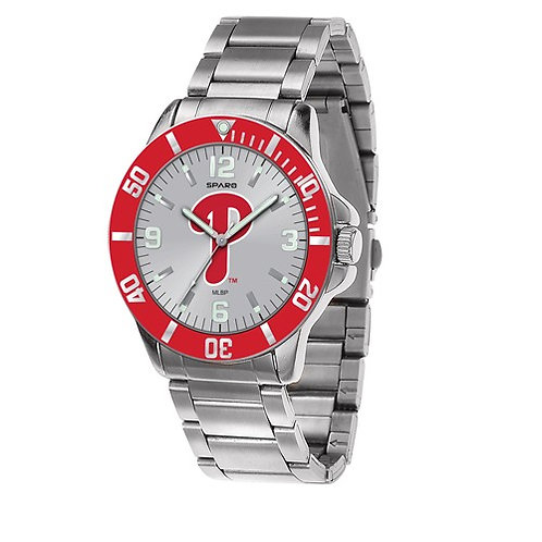 MLB© Philadelphia Phillies - Stainless Steel Watch