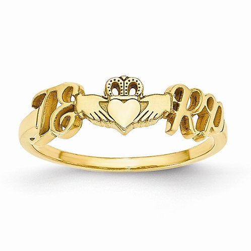 Customized Claddagh Ring