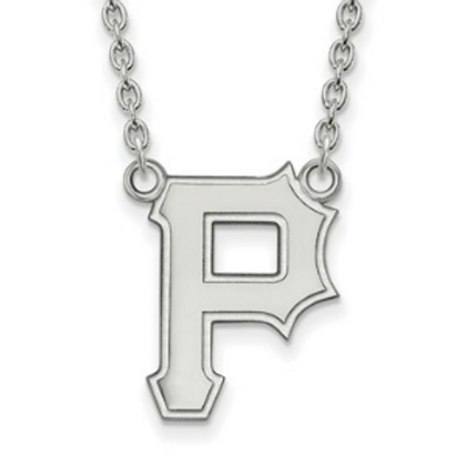 MLB© Pittsburgh Pirates - Sterling Silver Necklace
