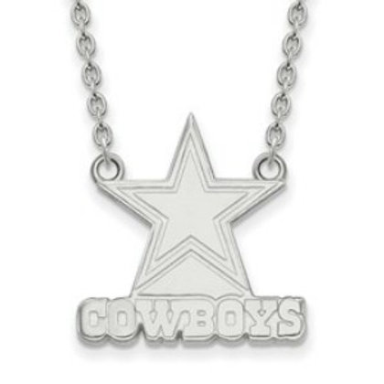 NFL© Dallas Cowboys - Sterling Silver Necklace