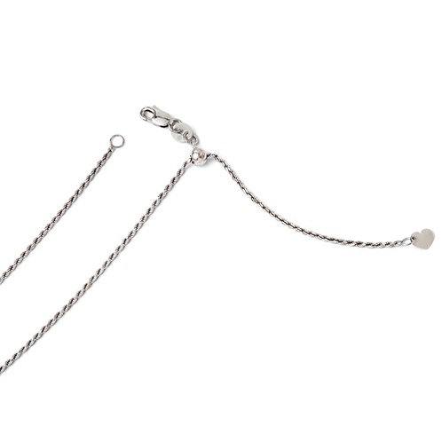 14k Adjustable Chain, 1.20mm D/C Rope