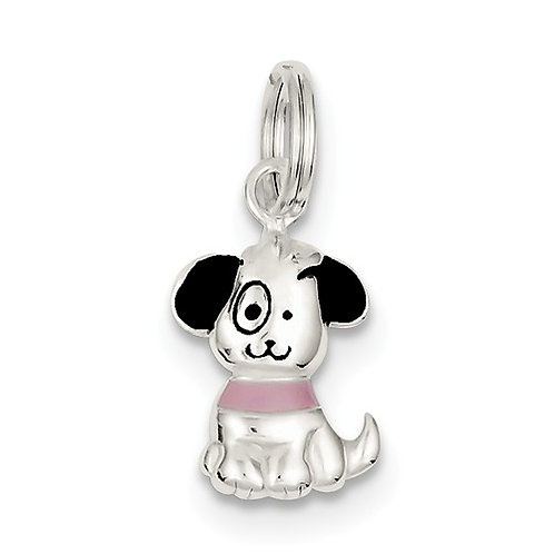 Quality® Child's Pendant, Sterling Puppy