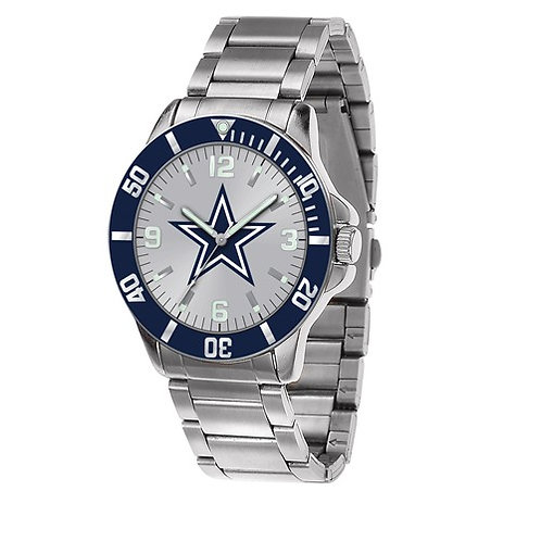 NFL© Dallas Cowboys - Stainless Steel Watch
