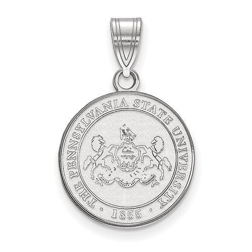Penn State Sterling Crest Pendant / Charm