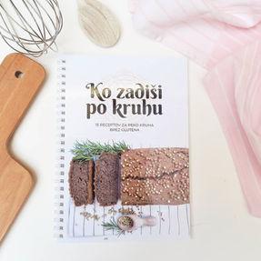 Knjižica z recepti Ko zadiši po kruhu