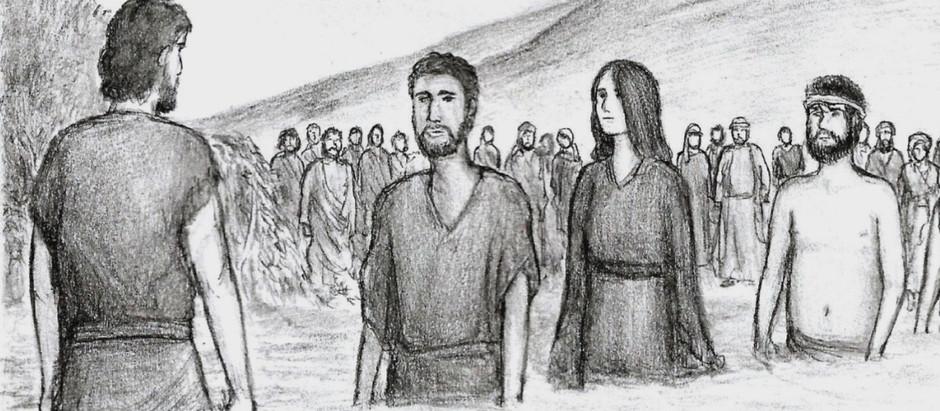 """""""Jumala kanssamme""""– Raamattu-sarjakuva, osa 4"""