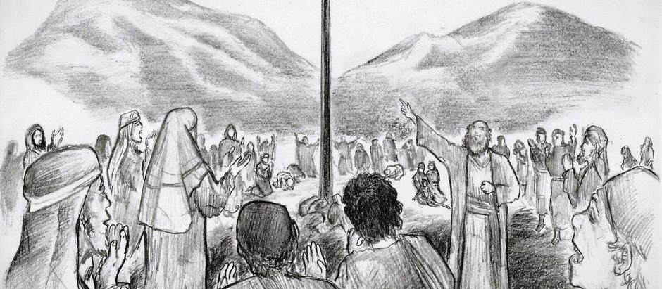 """""""Jumala kanssamme""""– Raamattu-sarjakuva, osa 1"""