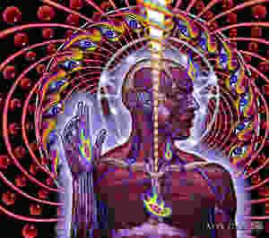 Kuvassa Toolin levynkansi, jossa on ihmisen ylävartalo, jonka lihakset väkyvät. Ihmistä ympäröi spiraaleissa silmiä ja punaisia palloja.