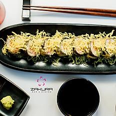 Zakura's special tempura roll