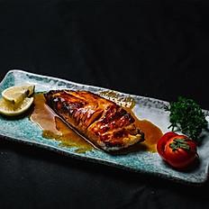 Grilled black cod