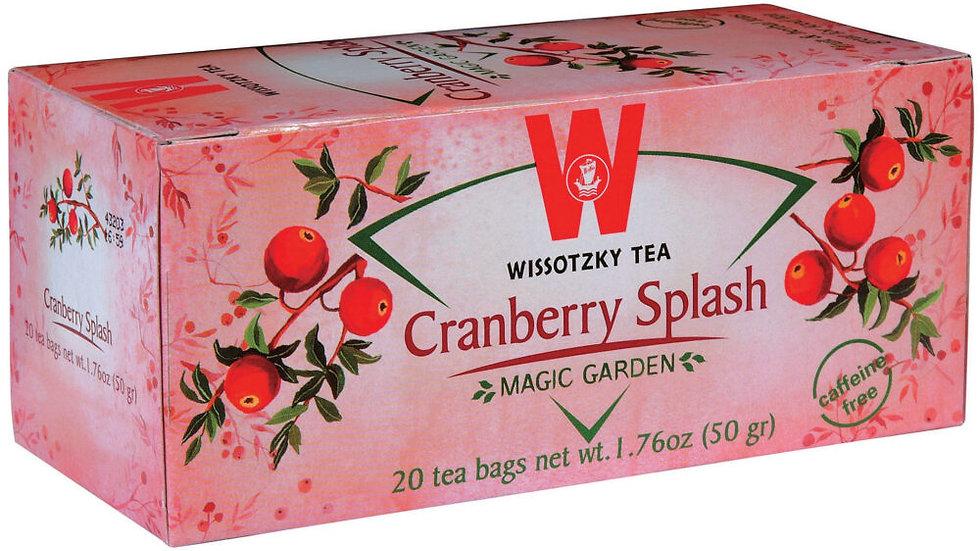 Wissotzky Cranberry Splash