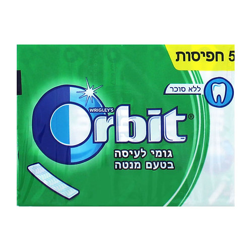 Orbit Spearmint 5pk