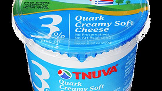 Tnuva 3% Soft Cheese 8.8oz.