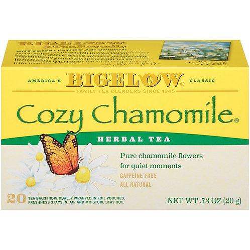 Bigelow Cozy Chamomile Tea 20 Ct