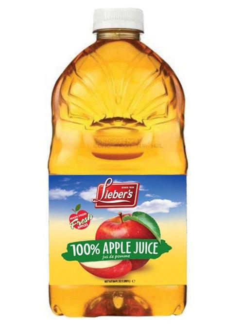 Lieber's Apple Juice 64 oz.