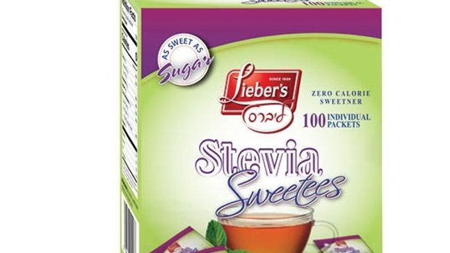 Lieber's Sweetees Stevia Sachets 100/1g