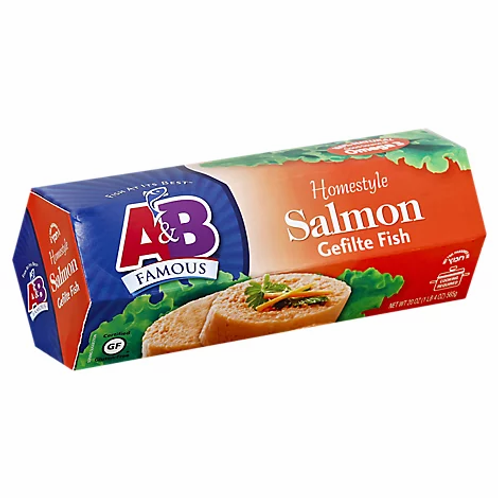 A&B Gefilte Salmon 20oz