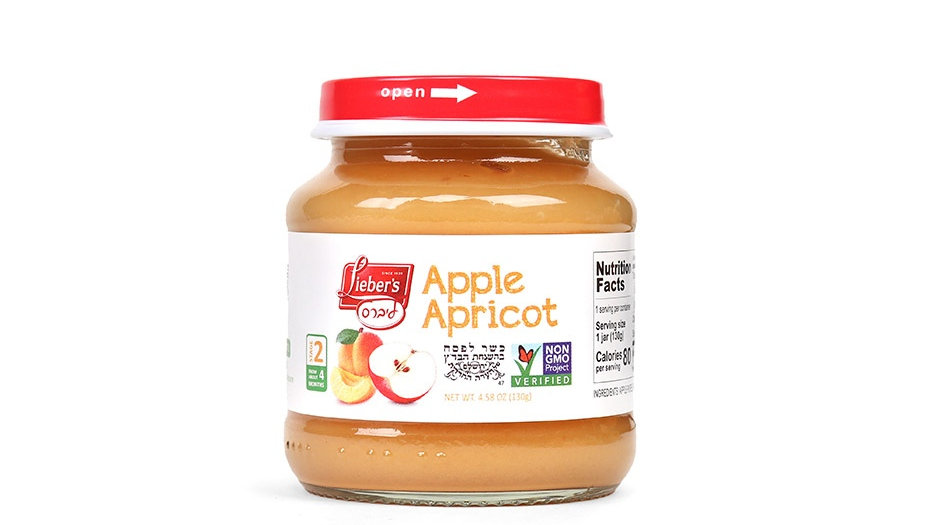 Lieber's Apple Apricot 4.6 oz.