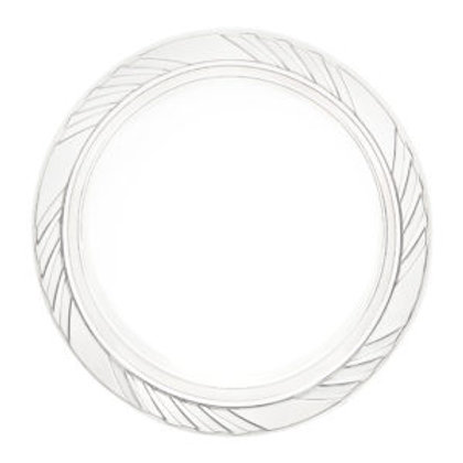 """Dinner Plastic Clear Plates 9"""" 40ct"""