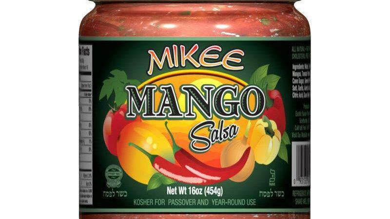 Mikee Salsa Mango 16 Oz