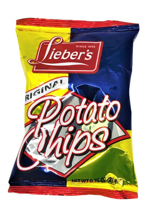 Lieber's Potato Chips (Regular) .75 oz.