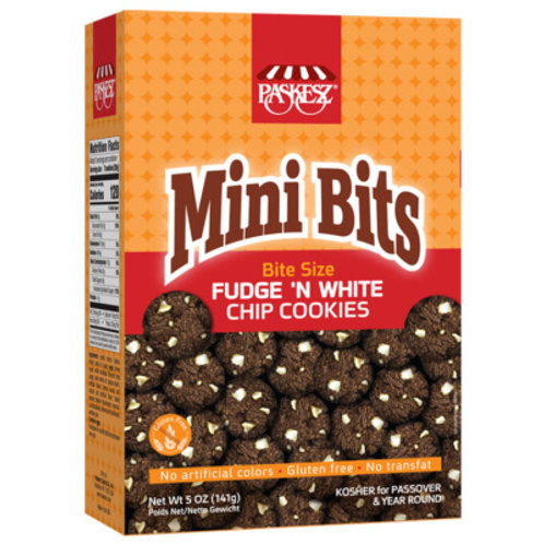 Paskesz Mini Bits Fudge 'n White 5oz