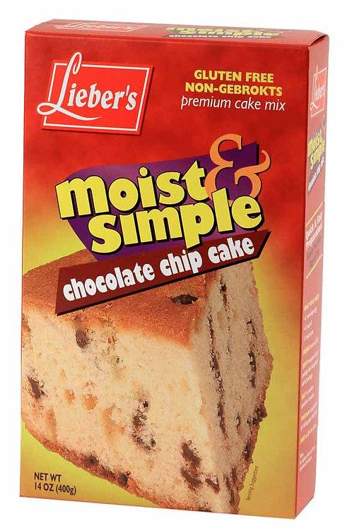 Lieber's Chocolate Chip Cake Mix 14 oz.