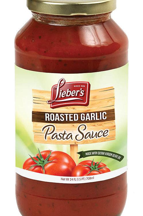 Lieber's Roasted Garlic Pasta Sauce 24 oz.