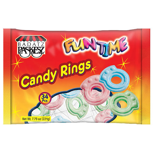 Candy Rings Family Pack 7.79oz