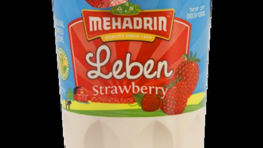 Mehadrin  Strawberry  Leben 6oz