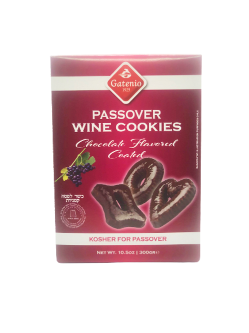 Gatenio Wine Cookies- Choc. Coated 10.5 oz