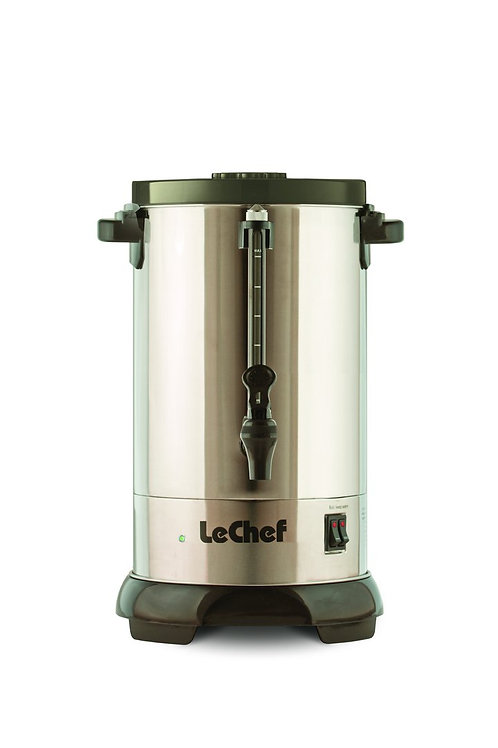 Le Chef Stainless Urn w Shabbos Switch