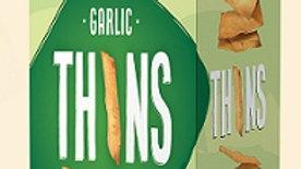Lieber's Thins Crackers(Garlic) 2.8 oz